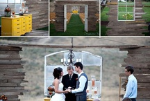 Wedding Alters / Here are some great ideas for what to get married under. / by Stacy Shank-Schwerdt