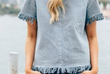 denim tops