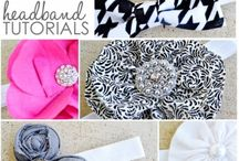 Hair accessories & clip hangers / Ideas and inspirations for hair accessories.