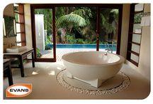 Espacios para relajarse / Aquí encontraras ideas maravillosas para llevar a cabo en tu hogar, tinas de baño relajantes, regaderas con un estilo único.