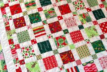 Cristmas patchwork and quilts