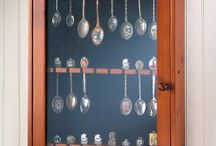 Spoon collection display ideals / by Mary Burgess