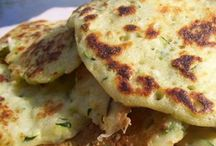 Blinis courgette
