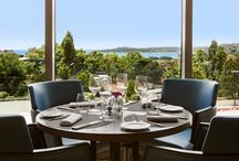 Conrad Istanbul Manzara Restaurant / Manzara Restaurant features excellent Mediterranean cuisine and exquisite wines to experience an intimate meal, celebration with your friends or toast to your business success.