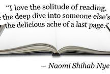 Author Quotes / Words of wisdom from some of your favorite writers.