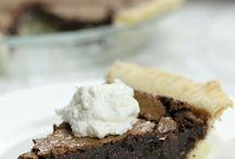 Fudge Brownie Silk Pie