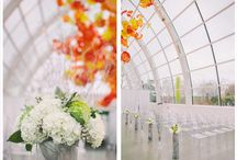 Wedding at Chihuly Garden and Glass February 2013 / c. Juniper Flowers... photos taken by Clane Gessel Photography