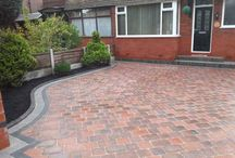 Drivesett Duo Driveway in Manchester / New driveway in Manchester using Marshalls Drivesett Duo Block Paving