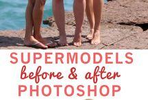 Models WITHOUT Photoshop Fixing