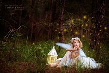 Whimsical ideas / Ideas for children and adults fairy-whimsical photo sessions.