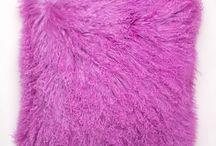 Mongolian Curly Lamb / Our beautiful 20 & 24 inch Mongolian curly lamb pillows.  Available at furug.com
