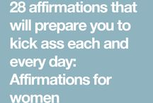 Affirmation s