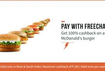 Get 100% Cashback on Any McDonalds Burger in West & South India