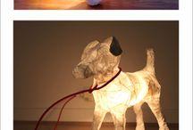 Papierlampen