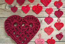 Hæklede hjerter