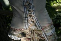 Diy summer corset top