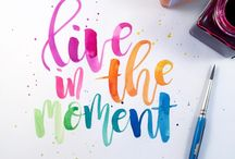 handlettering quotes