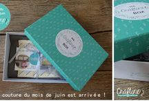 La Craftine Box / La box couture par abonnement