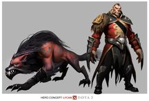 Dota2 / Game art and concept