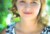 Anežka. Portrait photography / Z dnešního portrétní fotografování v krásných zahradách pod Pražským hradem. Portrait photography