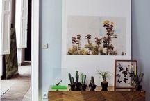 spaces / by Nicola Partington-Omar