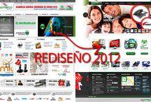 WebSite COMTECO 2012 / Administración WEB, Mantenimiento WEB, Diseño, Diseño WEB, SEO, Marketing