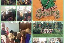 Brownie Troop 1890 Sewing Workshop 2016 / Brownie Troop 1890 did a wonderful job at their sewing workshop!