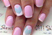unghii roz