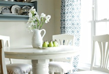 dining room. / by inspired (vintage.home.design)