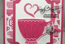 Stampin Up - A Nice Cuppa