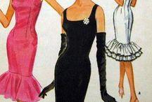 moda lata 1960