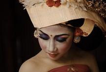 Bali indonesia model lukisan
