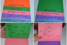 nouns, verbs, adjectives