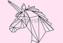 animales geometricos