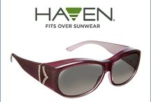 Haven Glam on QVC! / Haven Glam- oh so chic 'fits over' sunglasses ...only on QVC.