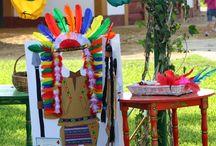 fiesta indios y vaqueros