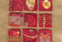 Colors...RED! / The color of passion and love and blood...Jesus' blood