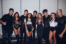 Little Mix and CNCO