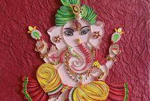 Ganesha-india Quilling
