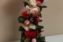 decorazione con tazze