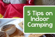 indoor camping ideas