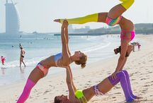 cool group fitness/beach pics