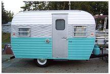 Vintage trailers / Quelques caravanes de rêve, toues ont leur charme, épinglées parce qu'elles me plaisent. Some dream trailers, all of them have their charm, pined because i like them