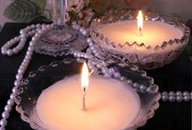 Candles/candle holders / by 💋 Mari 💋