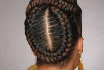 Braids hairstyle / Hair beauty