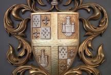 Heraldry / Heraldry, coat of arms, family trees, crests