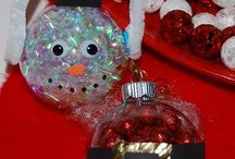 Holiday themed Crafts / Arts and Crafts themed for different holiday occasions e.g. Christmas