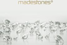 Madestones / Madestones Collection of exclusive and superior grade diamonds. Offering White and spectacular colors of pink, blue and yellow diamonds.