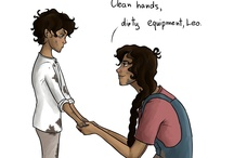 My boyfriend, Leo Valdez / He's off limits, sorry! *brandishes knife*