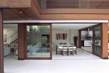 Casa com piscina integradas